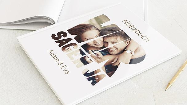 Notizbuch Hochzeit - Liebe durch und durch