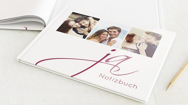 Notizbuch Hochzeit - Ja!
