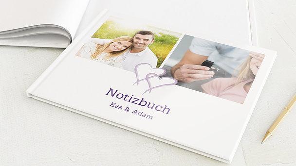 Notizbuch Hochzeit - Mein Herz