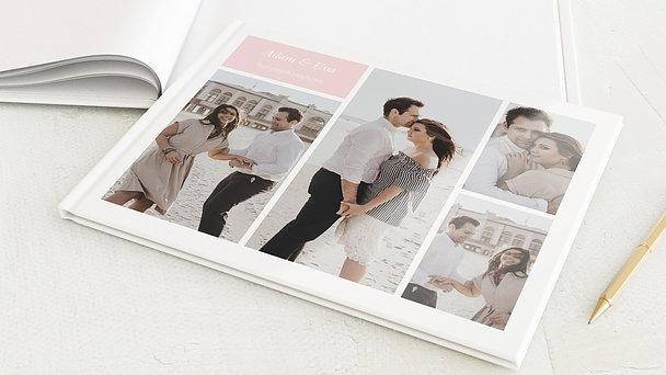 Notizbuch Hochzeit - Hochzeitscollage