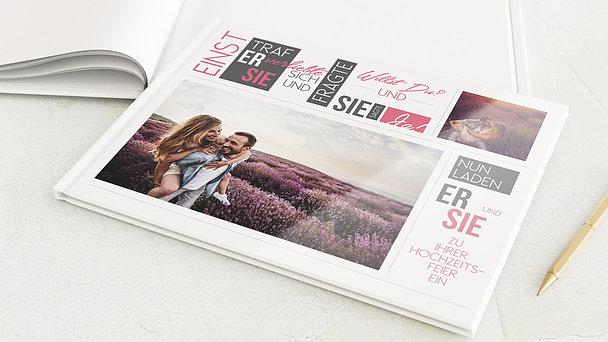 Notizbuch Hochzeit - Love Story