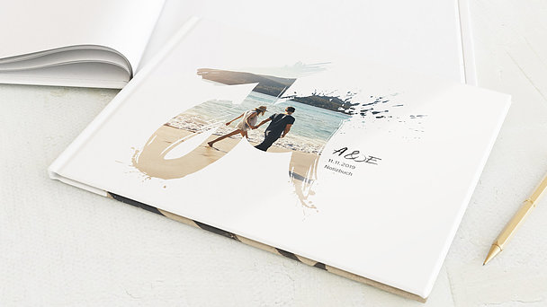 Notizbuch Hochzeit - Liebesenergie