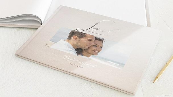 Notizbuch Hochzeit - Weicher Glanz