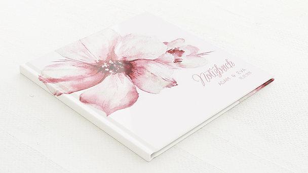 Notizbuch Hochzeit - Blütenpracht