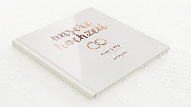 Notizbuch Hochzeit - Edles Ja