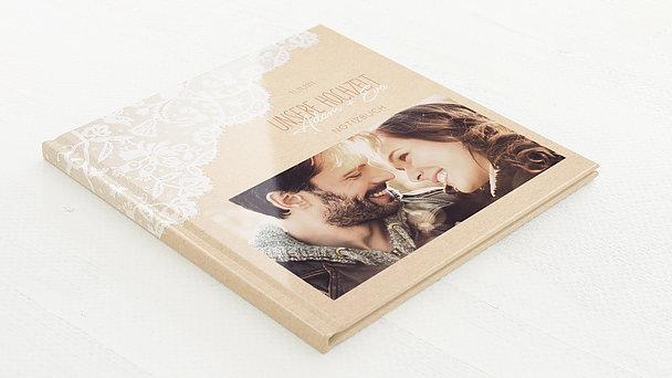 Notizbuch Hochzeit - Pastellspitze