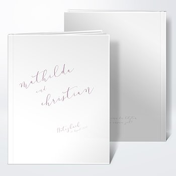 Notizbuch Hochzeit - Temperament