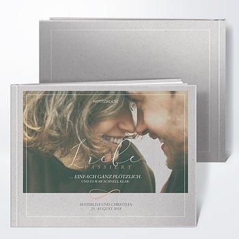 Notizbuch Hochzeit - Plötzlich Liebe