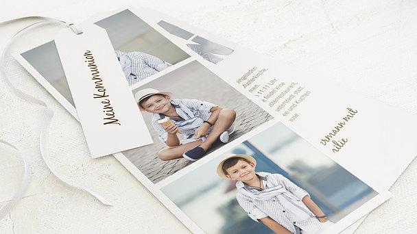 Kommunionskarten - Fototext