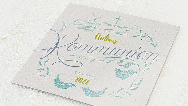 Kommunionskarten - Federweich