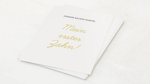 Meilensteinkarten - Einfach & Simple