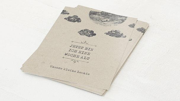 Meilensteinkarten - Mondschein