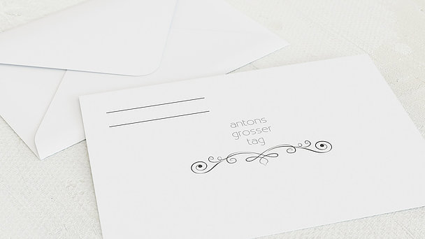 Umschlag mit Design Firmung - Firmungstafel