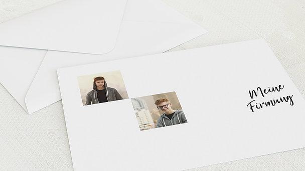 Umschlag mit Design Firmung - Gekachelt
