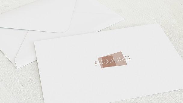 Umschlag mit Design Firmung - Traumtag