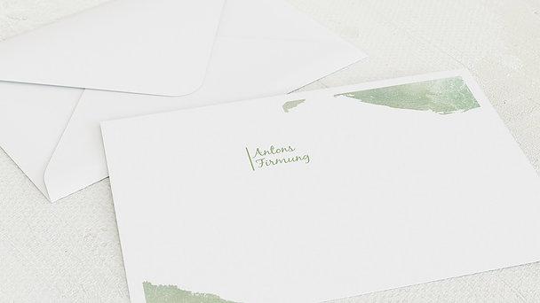 Umschlag mit Design Firmung - Fisch im Wasser