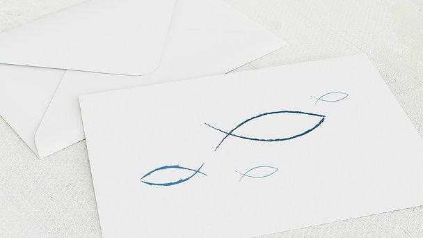 Umschlag mit Design Firmung - Bedeutung