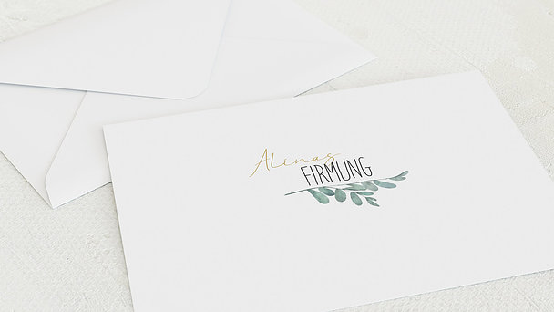 Umschlag mit Design Firmung - Meine Zeremonie
