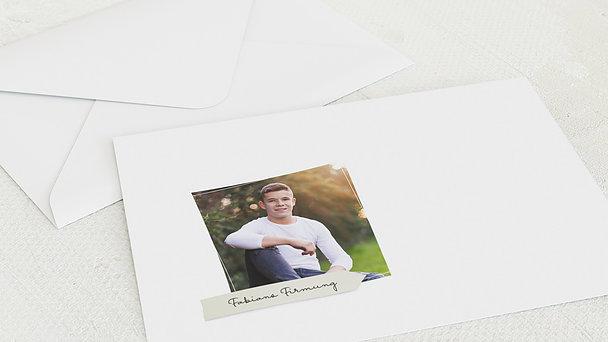 Umschlag mit Design Firmung - Wegweiser