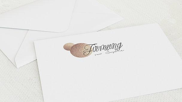 Umschlag mit Design Firmung - Glanzmoment