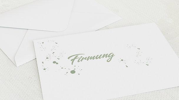 Umschlag mit Design Firmung - Kraftquelle