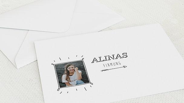 Umschlag mit Design Firmung - Freudestrahlen