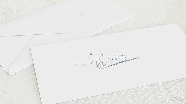 Umschlag mit Design Firmung - Sternentafel
