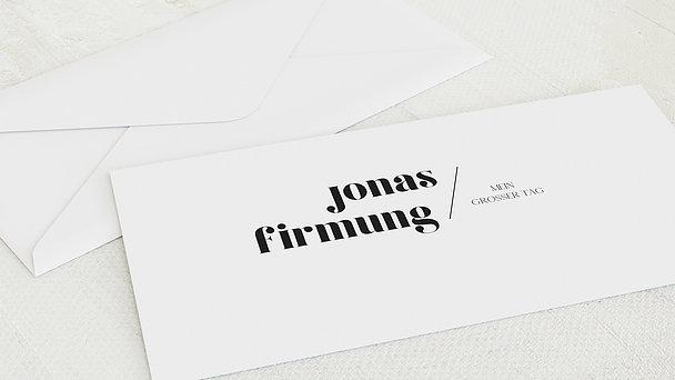 Umschlag mit Design Firmung - Diem