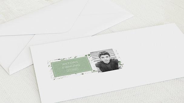 Umschlag mit Design Firmung - Firmung-Impression