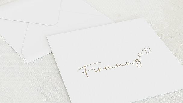 Umschlag mit Design Firmung - Freudenrauschen