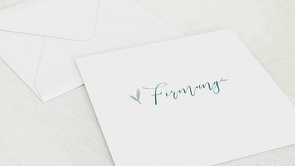 Umschlag mit Design Firmung - Glauben Schenken