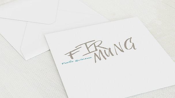 Umschlag mit Design Firmung - Eigener Weg