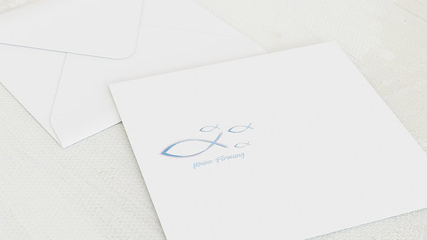 Umschlag mit Design Firmung - Schwarmzeit