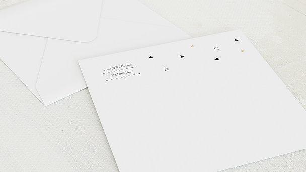 Umschlag mit Design Firmung - Triola