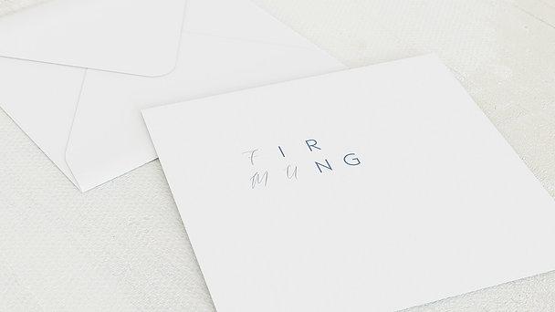 Umschlag mit Design Firmung - Himmelsdach