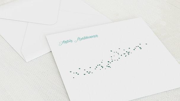 Umschlag mit Design Firmung - Geflitter Firmung