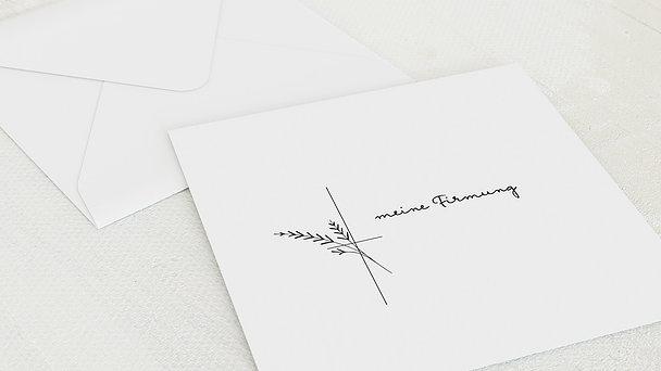 Umschlag mit Design Firmung - Wiesenkräuter