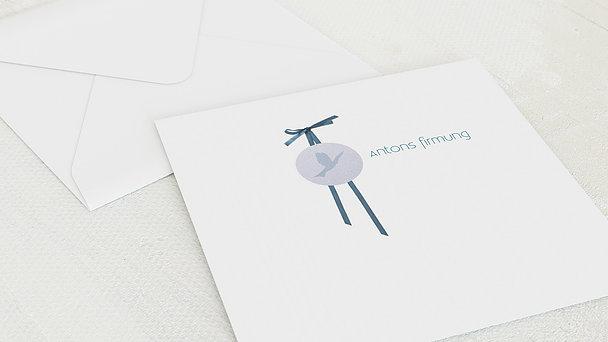 Umschlag mit Design Firmung - Kraftvoll