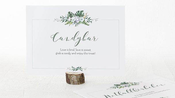 Dekoschilder - Blütentraum