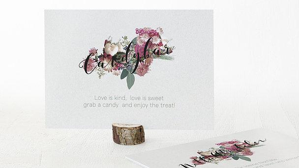 Dekoschilder - Blütenwalzer