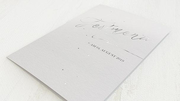 Menükarte Hochzeit - Liebestupfer