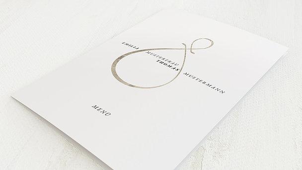 Menükarte Hochzeit - Enamora