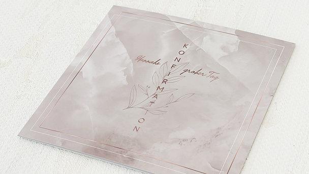 Konfirmationskarten - Blühender Zweig