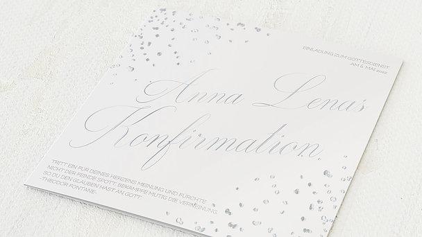 Konfirmationskarten - Kristallgestöber