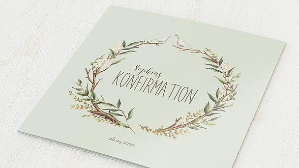 Konfirmationskarten - Konfirmationkranz