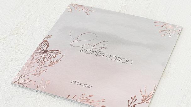 Konfirmationskarten - Frühlingsgarten
