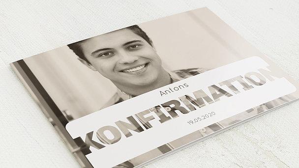 Konfirmationskarten - Transparent Konfirmation