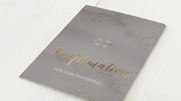 Konfirmationskarten - Zartes Geflitter