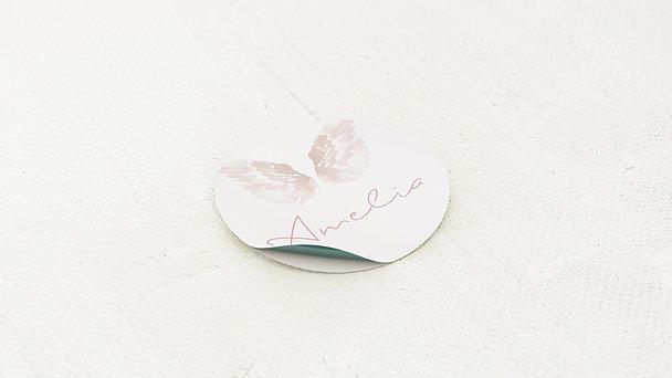 Geschenkaufkleber für Gastgeschenke - Unser Engel