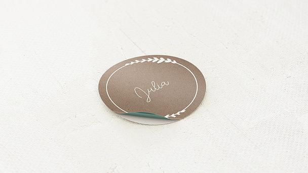 Geschenkaufkleber für Gastgeschenke - Freudenfunkeln